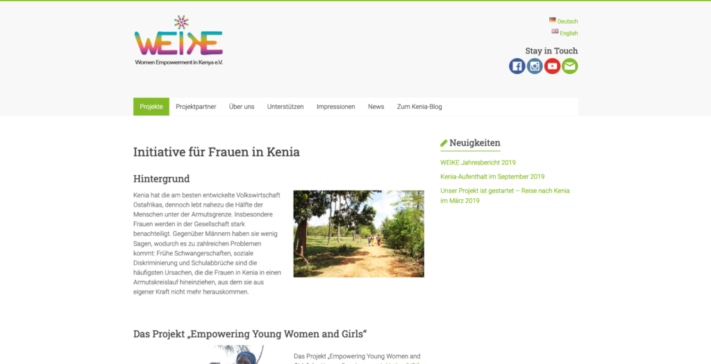 Referenz WEIKE – Women Empowerment in Kenya e.V.