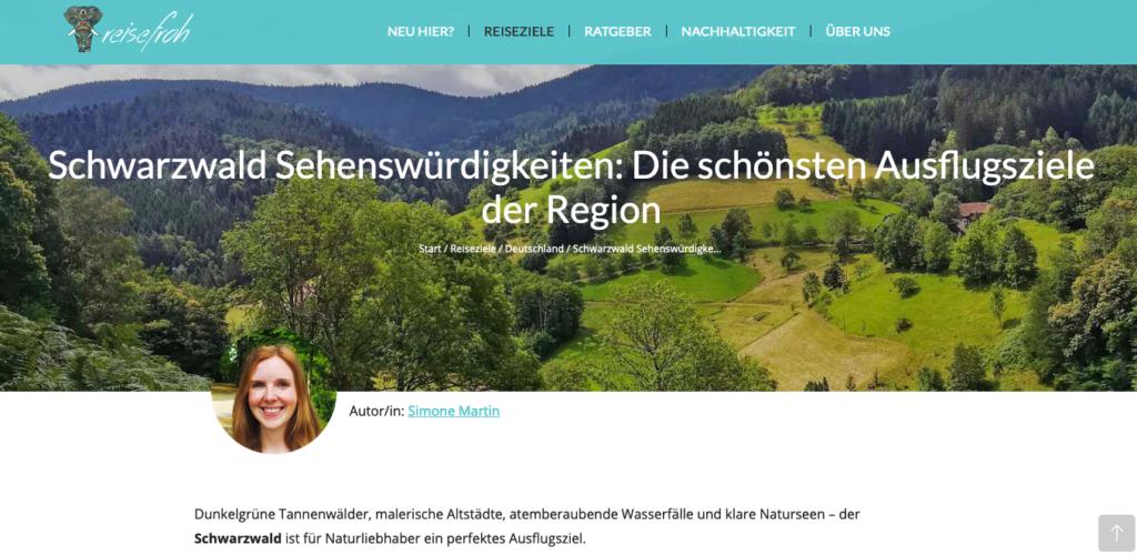 Gastautorin bei reisefroh.de